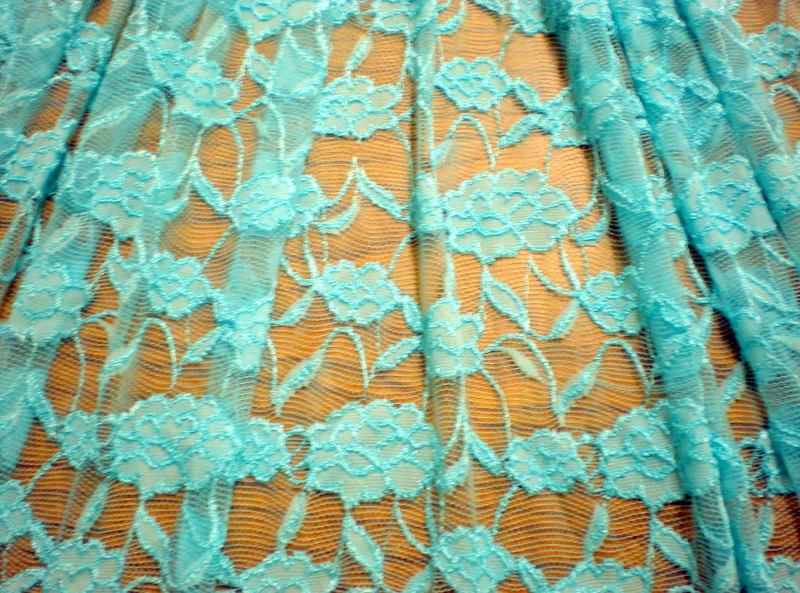 6.Aqua Romance Flower Lace #2