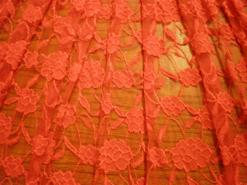 7.Red Romance Flower Lace #2