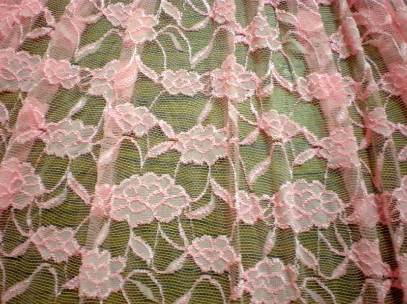 8.Lt. Pink Romance Flower Lace #2