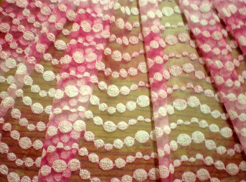 2.Fuchsia-Lt. Pink Tiedye Lace #2