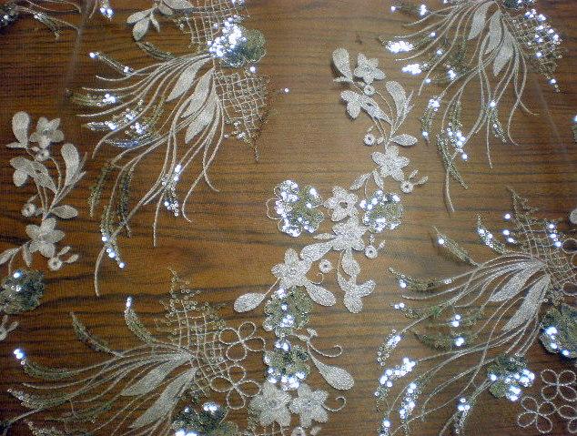 1.White Arundhuti Sequins# 3