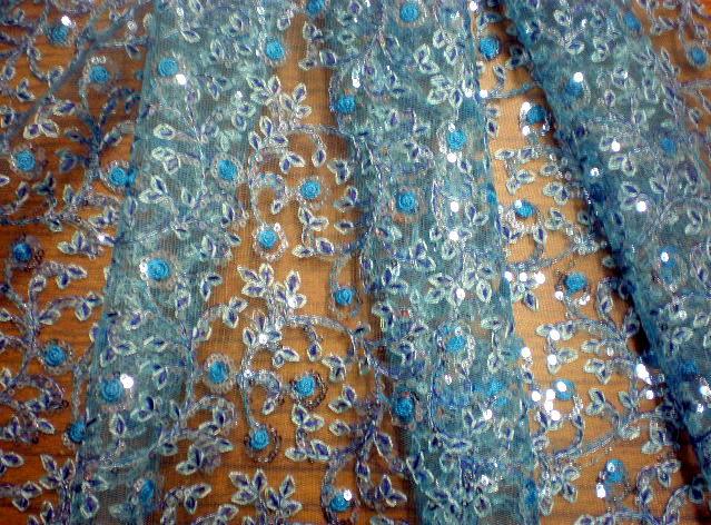 2.Turquoise Arundhuti Sequins#2