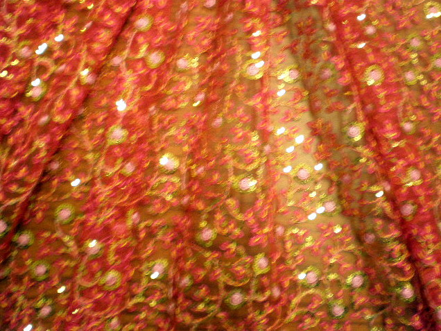 4.Red Arundhuti Sequins #2