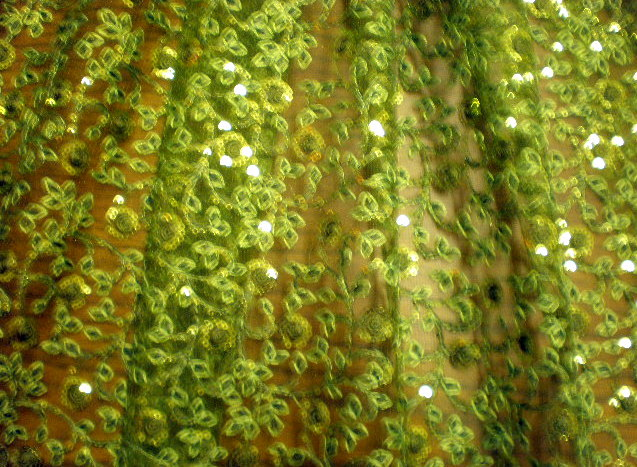 6.Green Arundhuti Sequins#2