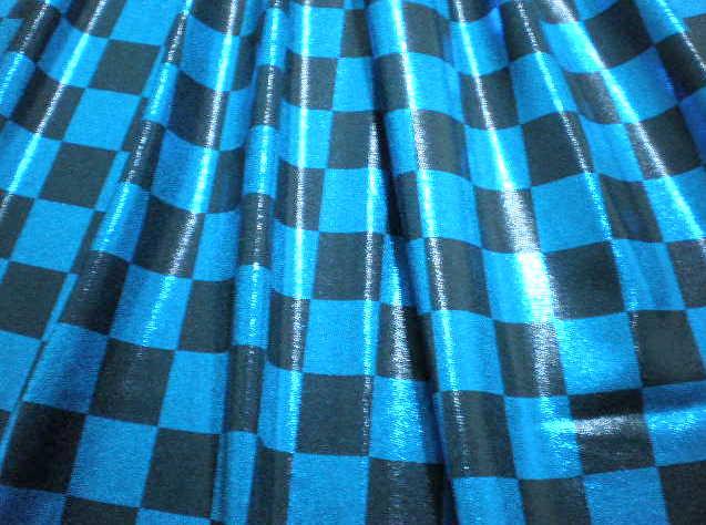 5.Royal-Black Misty Dot Checker