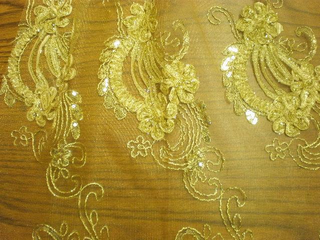 1.Gold Novelty Sequins #5