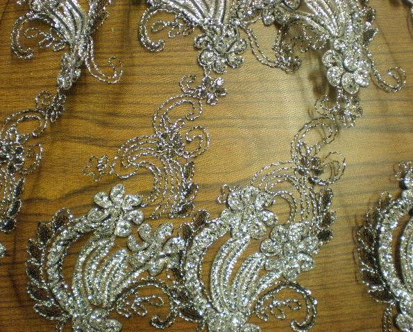 11.Black Silver Novelty Sequins #5