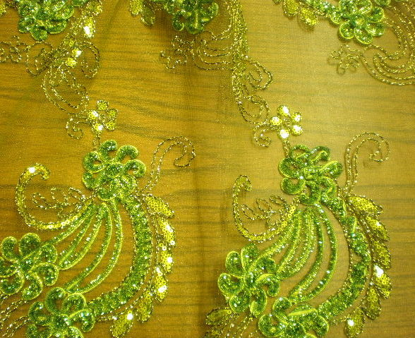 7.Lime Novelty Sequins #5