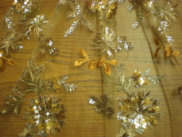 1.Gold Novelty Sequins #6