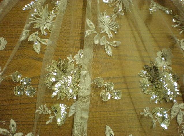 2.Silver Novelty Sequins#6