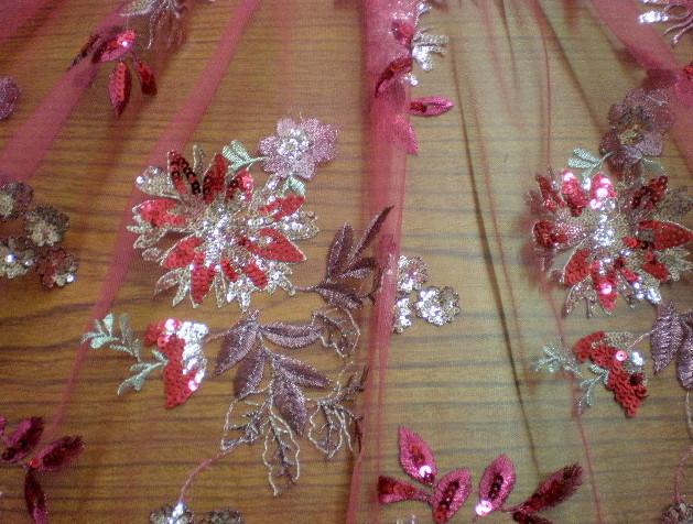6. Fuchsia Novelty Sequins #6