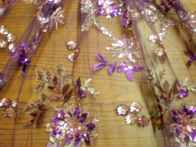 6.Purple Flower Sequins #1
