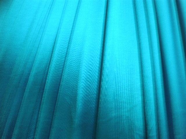 4. Turquoise Stretch Satin#1