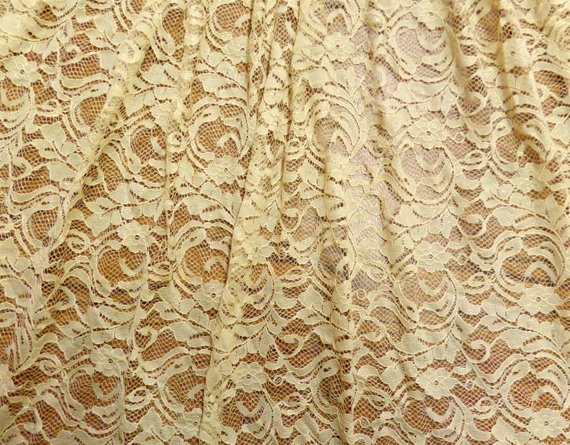 7.Nude-Gold Glitter Lace #3
