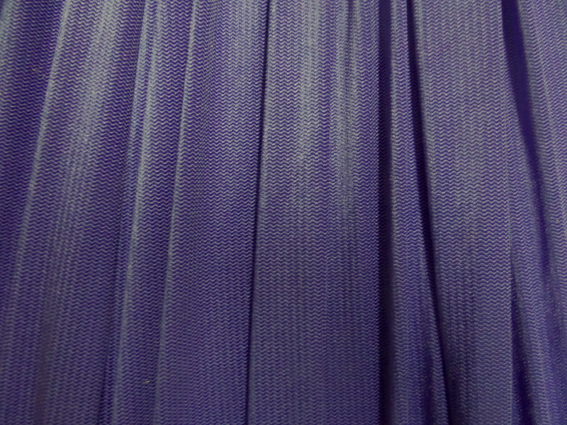 8.Purple Herringbone Spandex