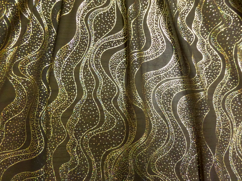 1.Brown-Gold Novelty Glitter #4