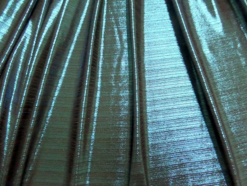 12. Turquoise Metallic Novelty #5