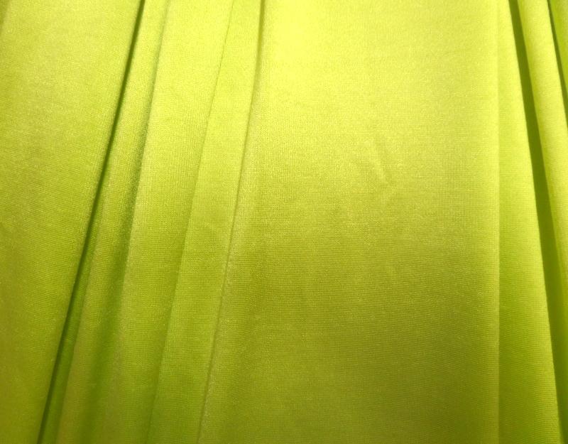 13.Chartreuse Jumbo Spandex #2