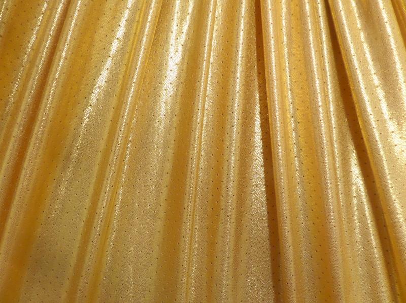 1.Gold Metallic Laser Hole