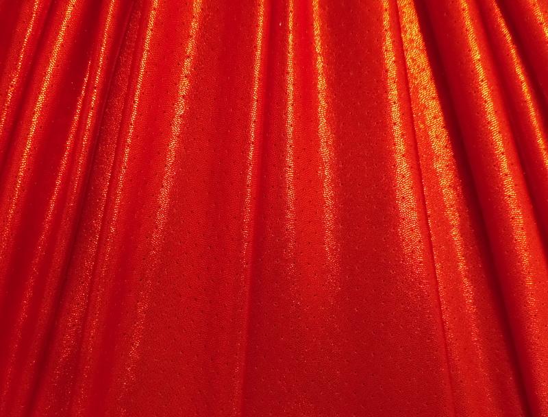 5.Red Metallic Laser Hole