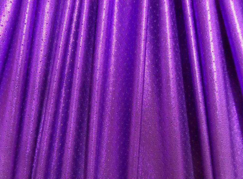 6.Purple Metallic Laser hole