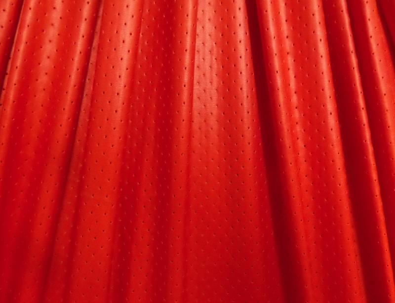 7. Red Matte Metallic Laser Hole