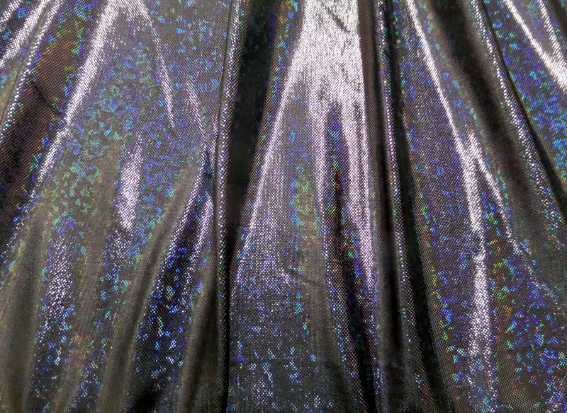 7.Black-Black Broken Glass Velvet