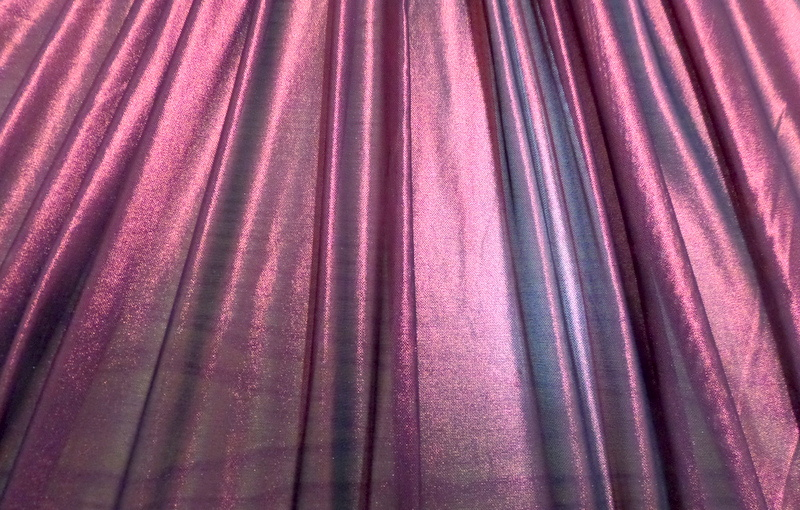 6.Fuchsia-Black Solid Metal Mesh#2