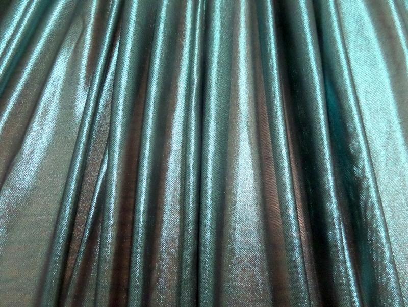 7.Turquoise-Black Solid Metal Mesh#2