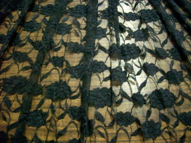 3.Black Romance Flower Lace#2