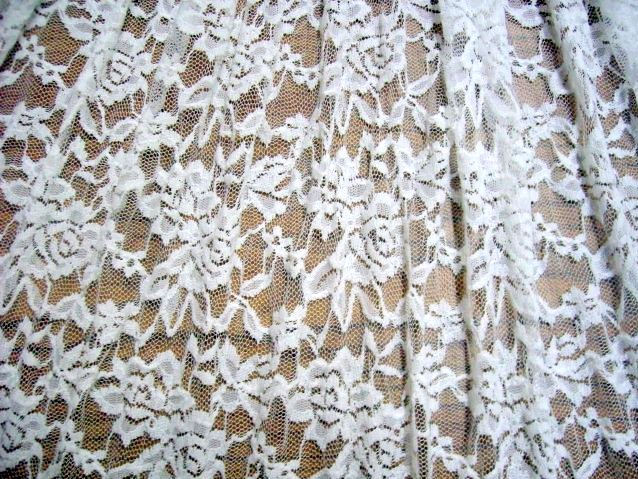 3.White Romance Flower Lace#3