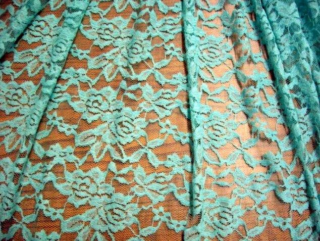 12.Mint Romance Flower Lace #3