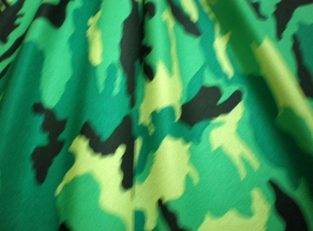 2. Green-Black-Yellow Camouflage