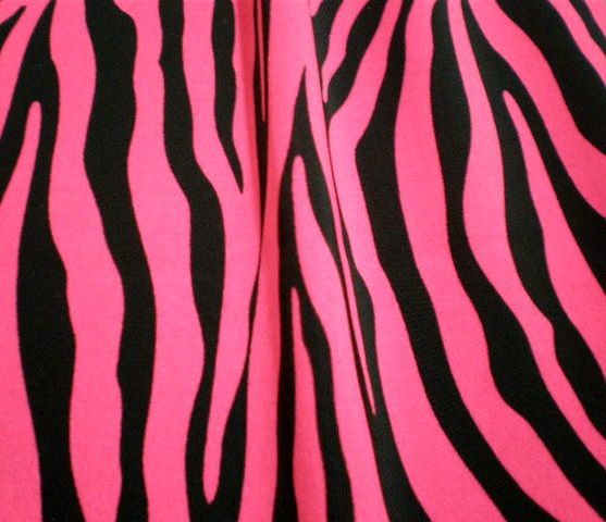 3. N.Pink-Black Zebra Animal Print