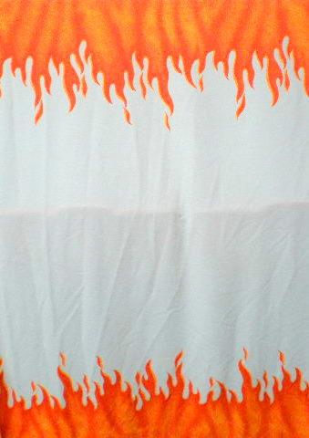 5.White-Orange Flame prints